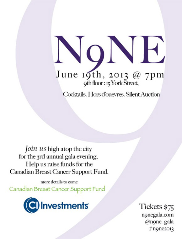 N9NE Gala - Toronto 2013