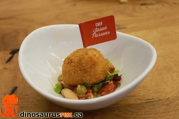 Chef Jason Parsons - Ultimate Food Challenge - Ham, Cheddar and Potato Croquettes