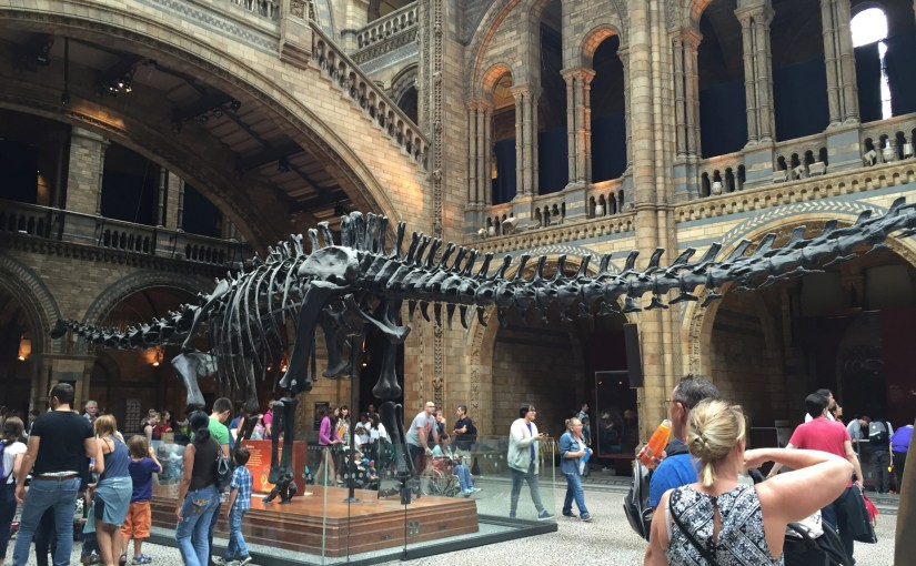 London – Zentrum und Natural History Museum [Sa 13.8]