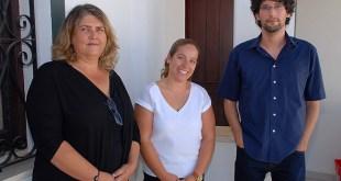 Elisabete Matos (E), Andreia Barracha (C) e Hélio Boto (D) - Foto © Samuel Mendonça