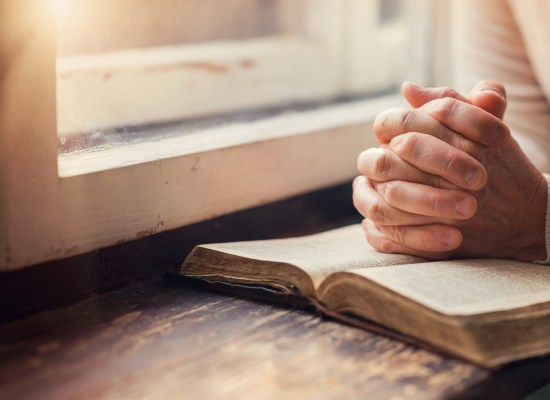 reading the bible - ThinkstockPhotos-498338498