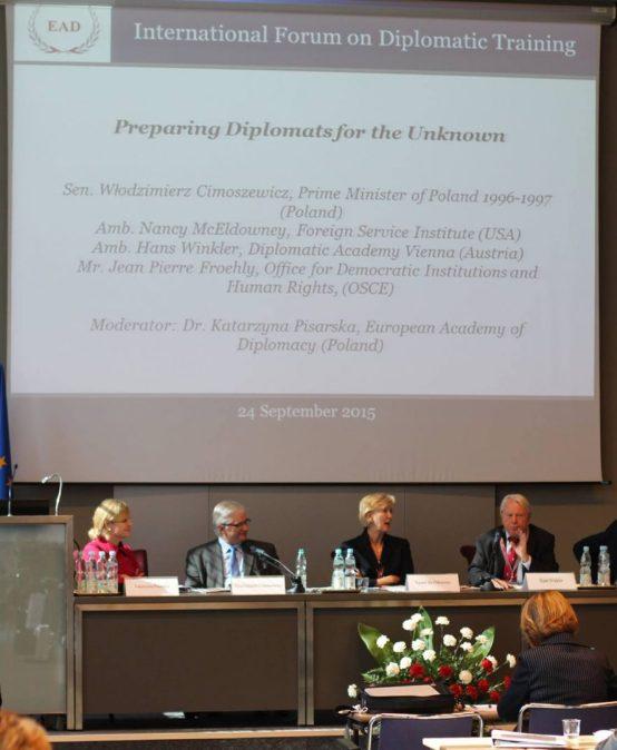 The International Forum on Diplomatic Training