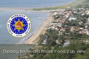 Dipolog Boulevard Phase 1 and 2 up view
