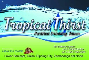 Tropical Thirst Purified Drinking Water