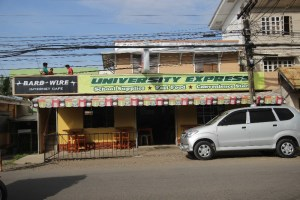 Barb Wire Internet Cafe and University Express