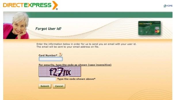 """""""Direct Express Login Help"""""""