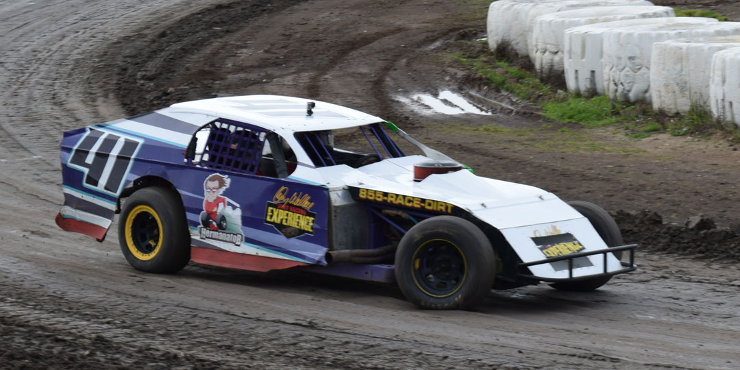 Drive a Dirt Car at Salina Highbanks Speedway October 15th for only $89!
