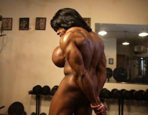 ebony nude art