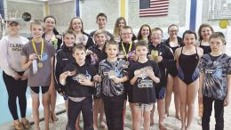 The Clarion County YMCA sent 32 swimmers to compete at the CENKEY League Championships held Feb. 18 and 19, at Lock Haven University. (Submitted photo)