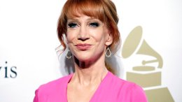 In this Feb. 11, 2017, file photo, comedian Kathy Griffin attends the Clive Davis and The Recording Academy Pre-Grammy Gala in Beverly Hills, Calif. (AP)