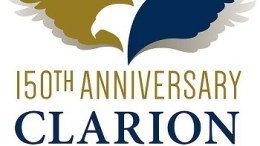 Clarion University sesquicentennial logo unveiled
