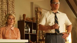"This file image released by Paramount Pictures shows Julianne Moore and Matt Damon in a scene from ""Suburbicon."" (AP)"