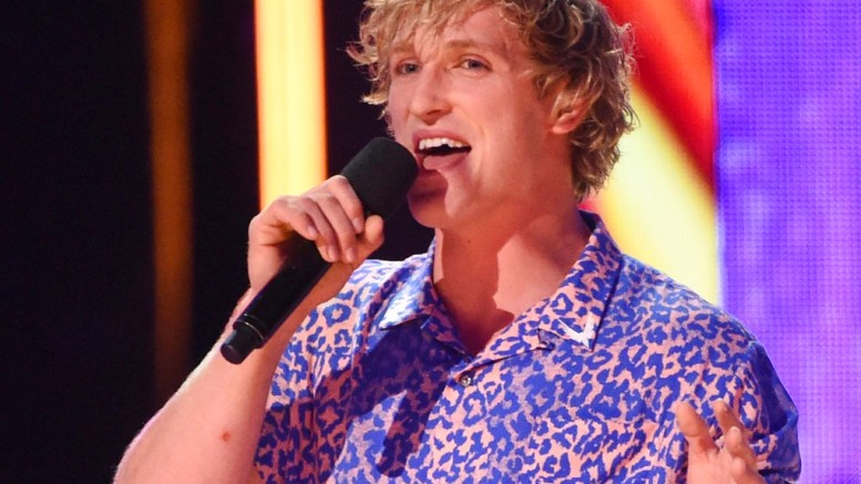 In this Aug. 13, 2017, file photo, Logan Paul introduces a performance by Kyle & Lil Yachty and Rita Ora at the Teen Choice Awards at the Galen Center in Los Angeles. (AP)