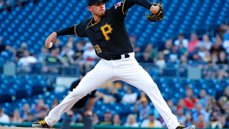 Pittsburgh Pirates starting pitcher Joe Musgrove delivers in the first inning of the team's baseball game against the St. Louis Cardinals in Pittsburgh, Friday, May 25, 2018. (AP)