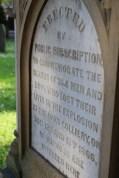 Oaks Disaster Memorial, Ardsley