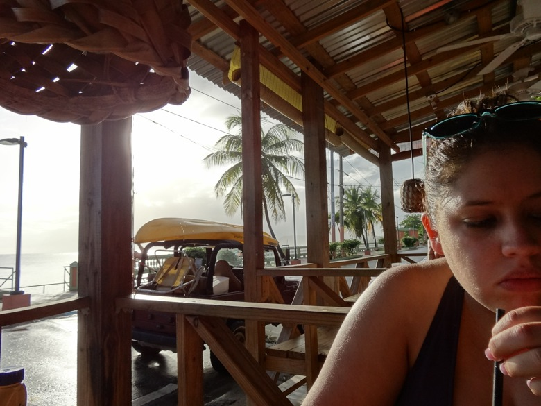 Dinning at Duffy's, Vieques