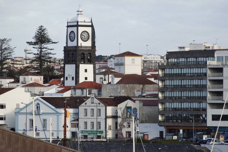 Close to port in Ponta Delgada, The Azores
