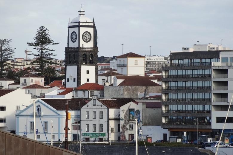 Close to port in Ponta Delgada, The Azores