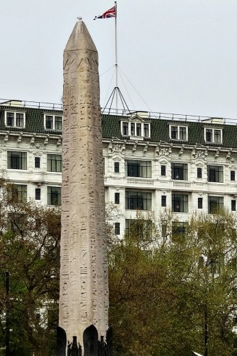 Cleopatra's Needle, the oldest thing in London