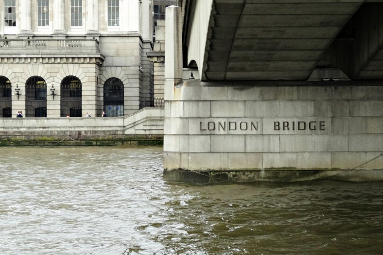 London Bridge is no longer falling down