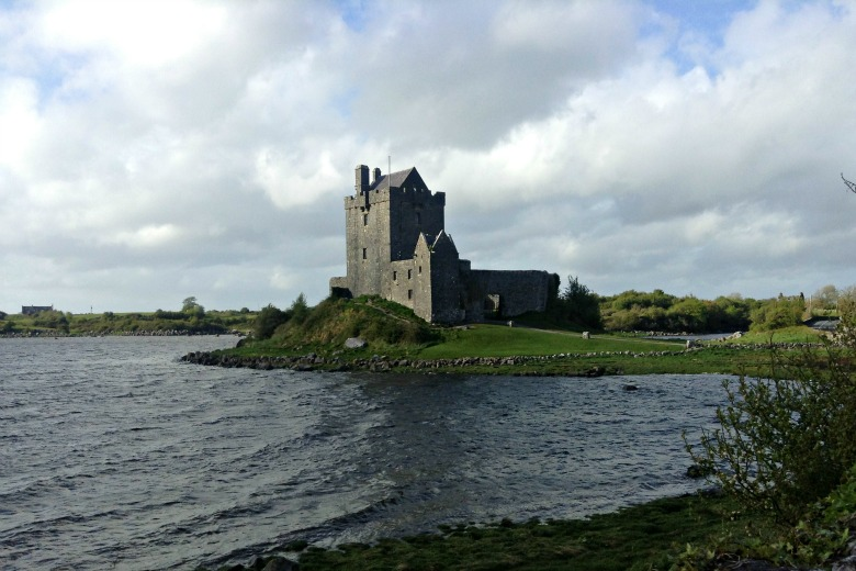 Dunguaire Castle in Kinvara - 5 minutes from our rental home