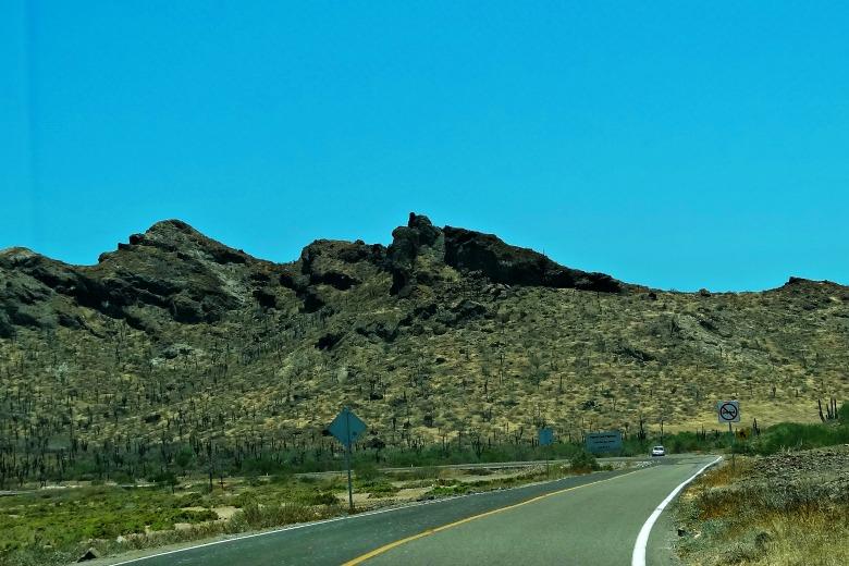 Road to Balandra