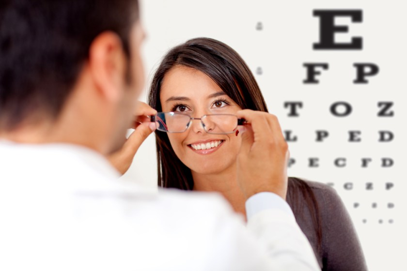 eye glass fitting vision correction options