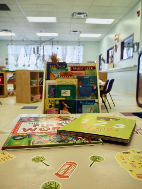 Pre-School Room Reading Corner