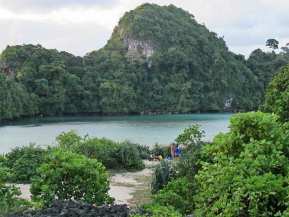 Sempu island beach