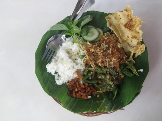 nasi pecel yogya