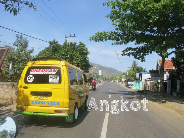 Indonesian Language Angkot
