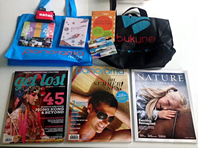 goodie bag travel and blog indonesia