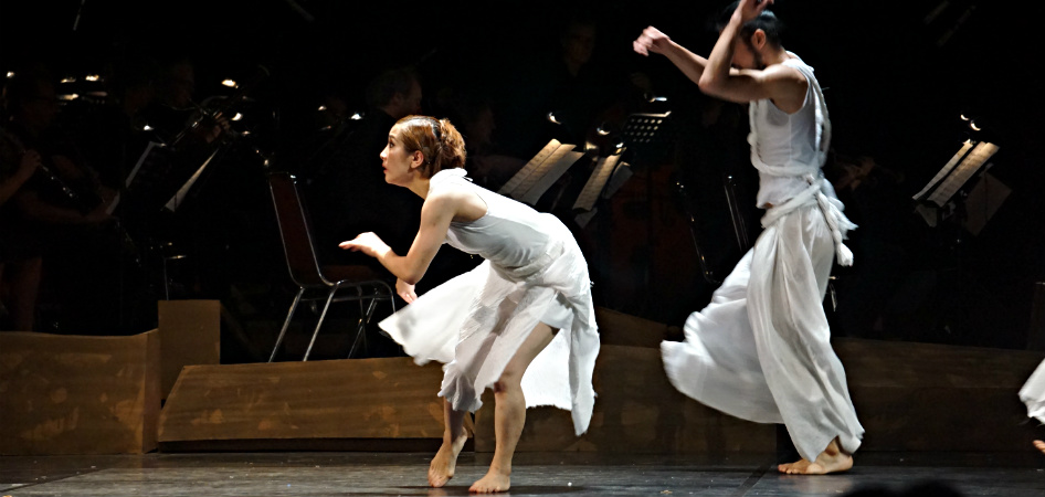 Gandari dance opera Jakarta