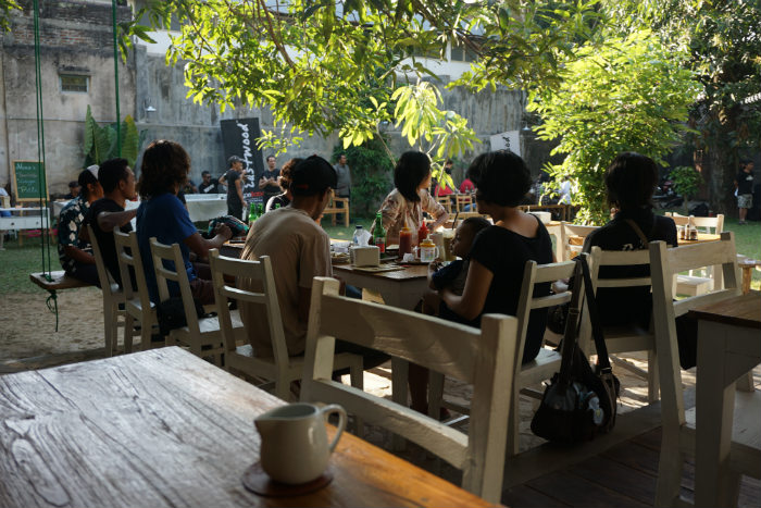 A selection of the best restaurants in Yogyakarta.