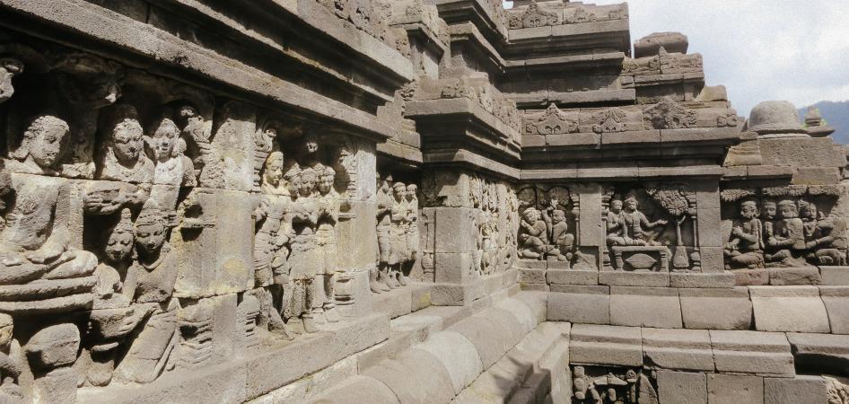 Mendut temple Magelang Indonesia