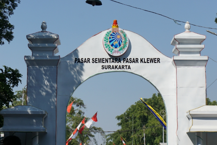 Klewer market Solo Surakarta, things to do in Solo