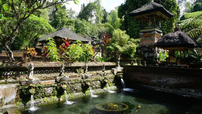 Gunung Kawi Sebatu temple is a 30-minute drive outside of Ubud.