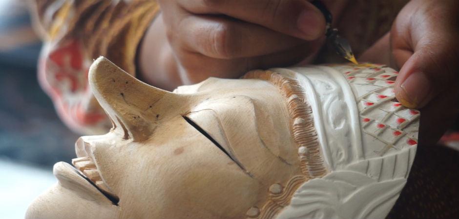 Javanese Mask Making