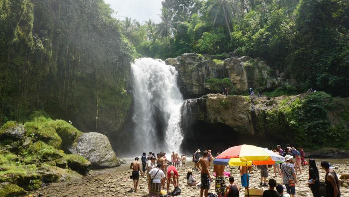 Tambunan Waterfall near Ubud