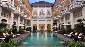 the phoenix hotel in Yogya