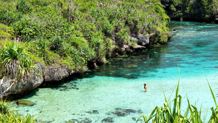 Weekuri lagoon must visit in Sumba