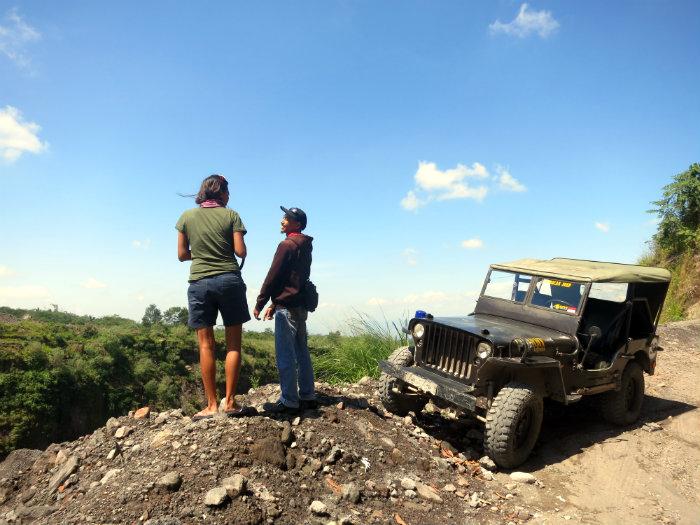 The Merapi Jeep Volcano Tour, Mt Merapi, Merapi Volcano