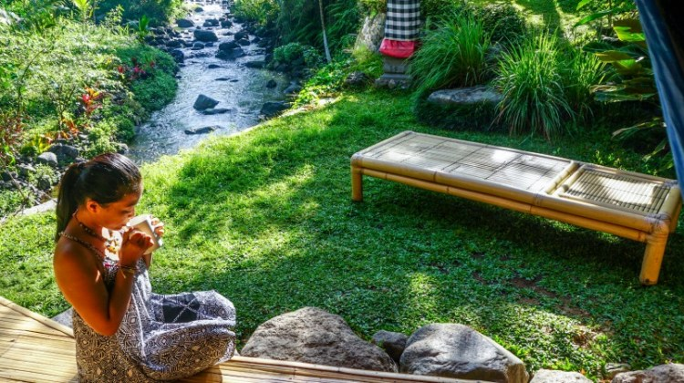 close to nature at hideout bali