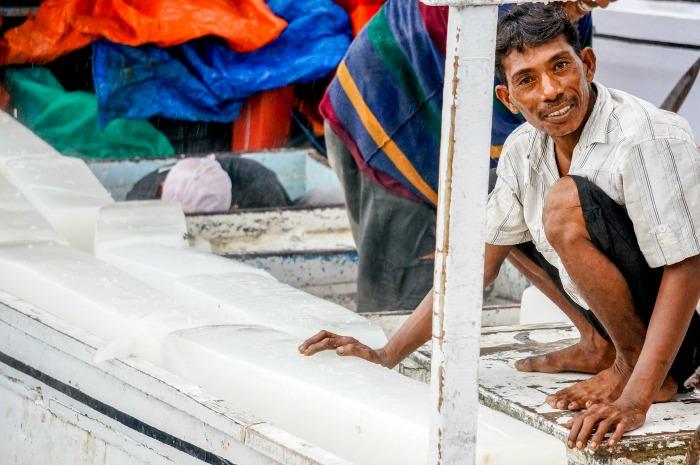Makassar fisherman activities at Paotere