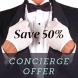 concierge save 50, discount family cookbook, online cookbook