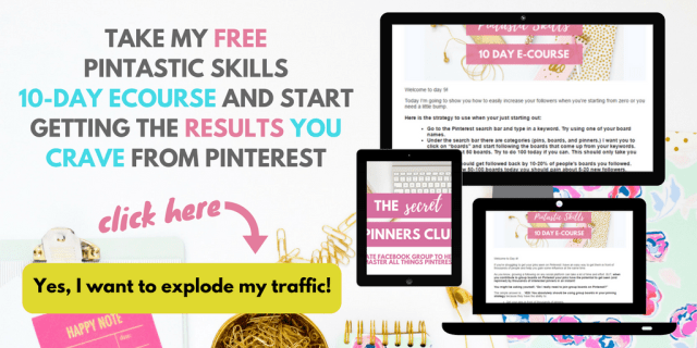 Free 10-day Pinterest course