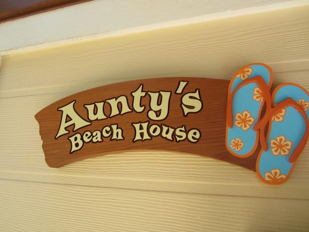 aunty's beach house