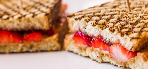La Brea Bakery Cafe Dole Menu Almond Butter And Strawberry Sandwich
