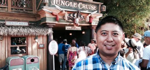 Disneyland Jungle Cruise Skipper Allen Salamanca