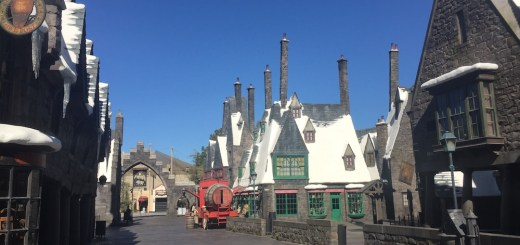Harry Potter Wizarding World Hollywood Immersive Experience Feature Hogsmeade